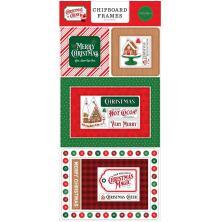 Carta Bella Christmas Cheer Chipboard 6X13 - Frames