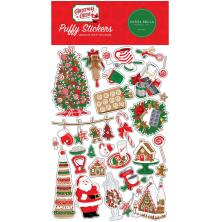 Carta Bella Puffy Stickers - Christmas Cheer