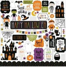 Echo Park Cardstock Stickers 12X12 - Halloween Magic