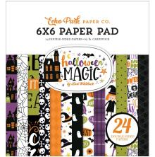 Echo Park Double-Sided Paper Pad 6X6 - Halloween Magic