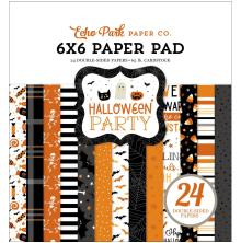 Echo Park Double-Sided Paper Pad 6X6 - Halloween Party
