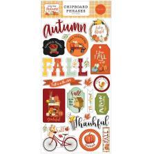 Carta Bella Welcome Autumn Chipboard 6X13 - Phrases
