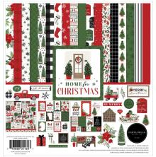 Carta Bella Collection Kit 12X12 - Home For Christmas