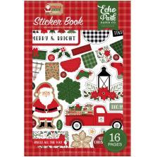 Echo Park Sticker Book - Jingle All The Way