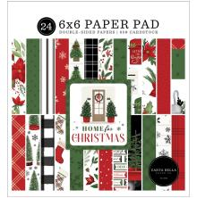 Carta Bella Double-Sided Paper Pad 6X6 - Home For Christmas