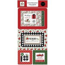 Carta Bella Home For Christmas Chipboard 6X13 - Frame