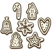 Tim Holtz Sizzix Thinlits Dies - Christmas Cookies