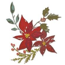 Tim Holtz Sizzix Thinlits Dies - Festive Bouquet