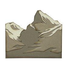 Tim Holtz Sizzix Thinlits Dies - Mountain Top