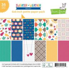 Lawn Fawn Petite Paper Pack 6X6 - Sweater Weather Remix