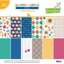 Lawn Fawn Collection Pack 12X12 - Sweater Weather Remix