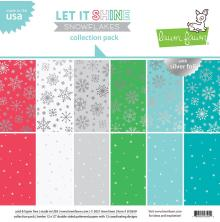 Lawn Fawn Collection Pack 12X12 - Let It Shine Snowflakes