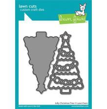 Lawn Fawn Dies - Jolly Christmas Tree
