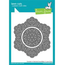 Lawn Fawn Dies - Outside In Stitched Snowflake