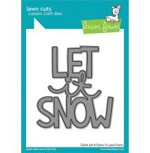 Lawn Fawn Dies - Giant Let It Snow