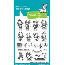 Lawn Fawn Clear Stamps 3X4 - Tiny Winter Friends