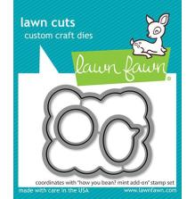 Lawn Fawn Dies - How You Bean? Mint Add-On