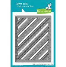 Lawn Fawn Dies - Peppermint Stripes Backdrop