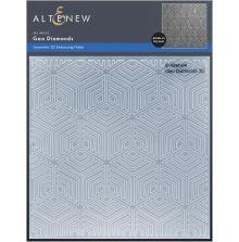 Altenew Embossing Folder - Geo Diamonds 3D
