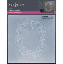Altenew Embossing Folder - Flowing Wreath 3D