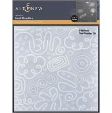 Altenew Embossing Folder - Cool Doodles 3D