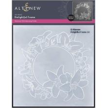 Altenew Embossing Folder - Delightful Frame 3D