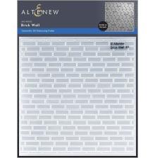 Altenew Embossing Folder - Brick Wall 3D
