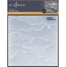 Altenew Embossing Folder - Cloudy Day 3D