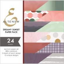 Altenew 6X6 Paper Pack - Dreamy Sunset