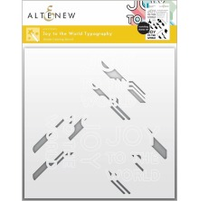 Altenew Stencil 6X6 - Joy to the World Typography