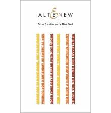 Altenew Die Set - Slim Sentiments