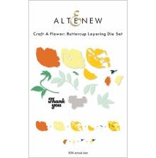 Altenew Die Set Craft A Flower - Buttercup Layering
