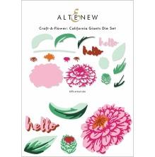 Altenew Die Set Craft A Flower - California Giants