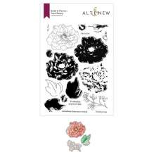 Altenew Clear Stamp And Die Build A flower - Tree Peony Layering