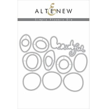 Altenew Die Set - Simple Flowers