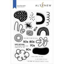 Altenew Clear Stamps 6X8 - Cool Decades