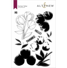 Altenew Clear Stamps 6X8 - Cartoon Tulips