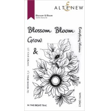 Altenew Clear Stamps 4X6 - Blossom & Bloom