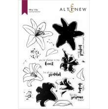 Altenew Clear Stamps 6X8 - Inky Lily