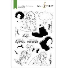 Altenew Clear Stamps 6X8 - Linear Life: Daydreams