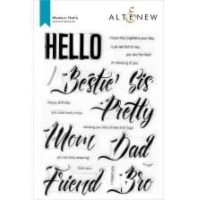 Altenew Clear Stamps 6X8 - Modern Hello