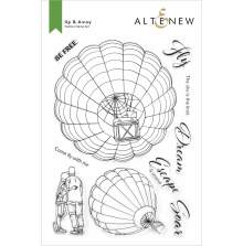 Altenew Clear Stamps 6X8 - Up & Away