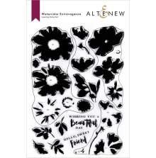 Altenew Clear Stamps 6X8 - Watercolor Extravaganza