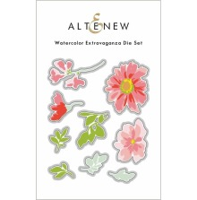 Altenew Die Set - Watercolor Extravaganza