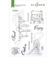 Altenew Clear Stamps 6X8 - Enjoy Your Journey