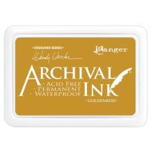 Ranger Archival Ink Pad Wendy Vecchi - Goldenrod