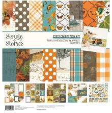 Simple Stories Collection Kit 12X12 - SV Country Harvest