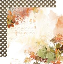 Simple Stories SV Country Harvest Cardstock 12X12 - Forever Fall