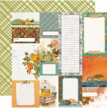 Simple Stories SV Country Harvest Cardstock 12X12 - Journal Elements