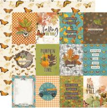 Simple Stories SV Country Harvest Cardstock 12X12 - 3X4 Elements